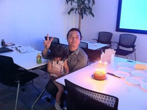 ちなみに、今日は @junichia の誕生日です。#sqldo