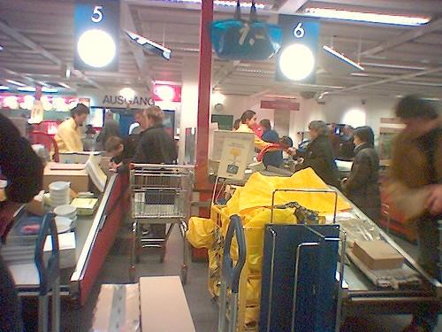 Ikea Spreitenbach am Samstag 25.02.06