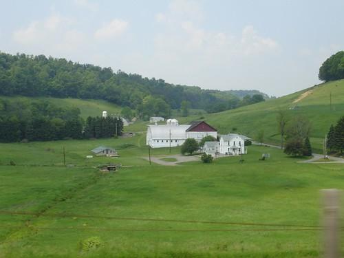 A random, Pennsylvania farmstead.