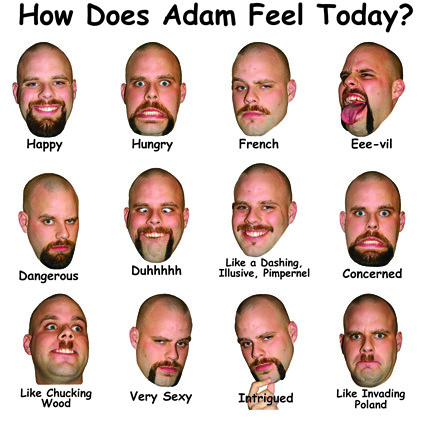 How Does Adam Feel Today email size
