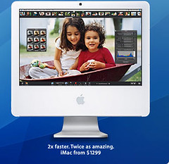 The new Intel-based iMac