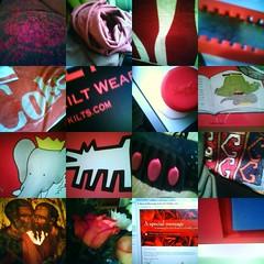 Redspotting collage for VD 2006