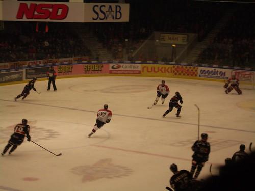 Jugada de ataque del Luleå