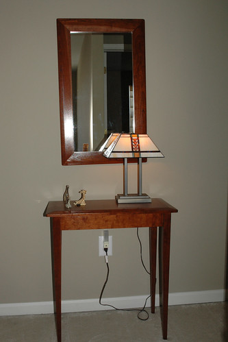 My favorite lamp (and table!)