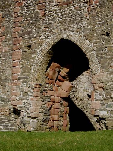 Skipness Castle gate