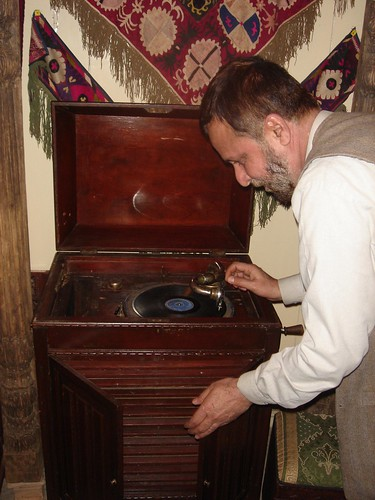 A Beautiful Antique Record Player