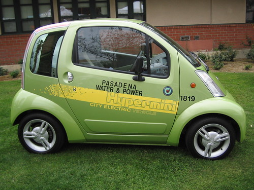 Little electric car