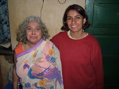 Monica and her Mum