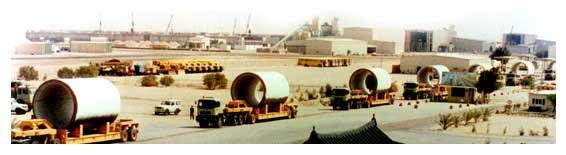 Transporte de tuberías