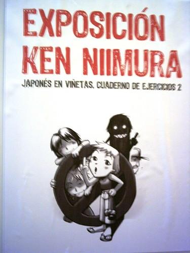 Exposición de los anteriores comics