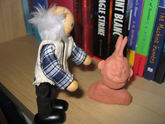Adventures in Teenbed-Ageroom: Grandad meets one of the natives