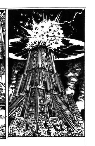 Tarot: The Tower (M's Portfolio)