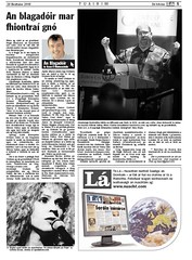 The Blogger Column in today's edition of Lá
