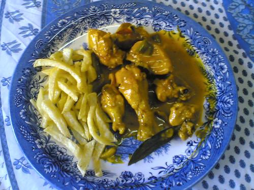 Pollo en Doraillo