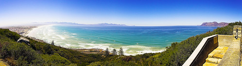 False Bay from Boyes Drive