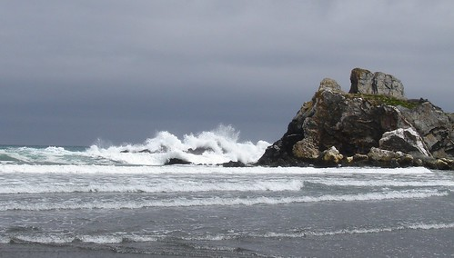 Light on a Stormy Sea