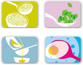 Jenny Duff: Modern Placemats, Coasters + Trays