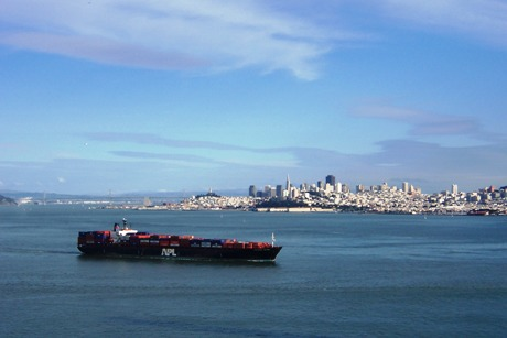 San Francisco (From Golden Gateway Bridge)