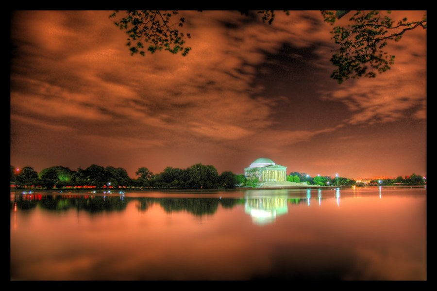 Jefferson Memorial Just After Midnight
