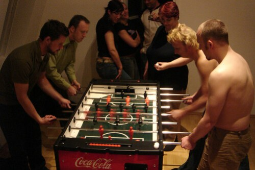 Naked Fussball