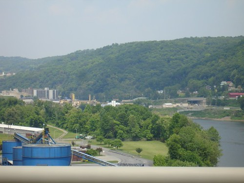 A typical Allegheny River town in Northern Pennsylvania.
