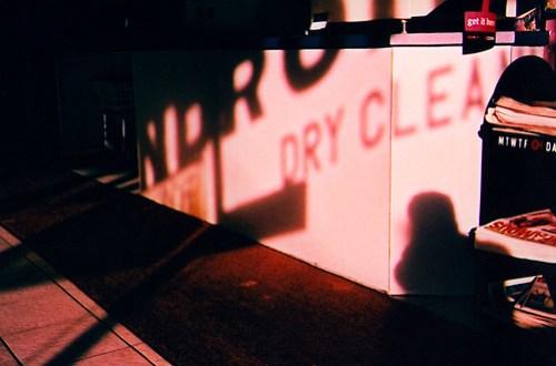 Laundromat shadows
