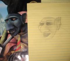My sad sketch