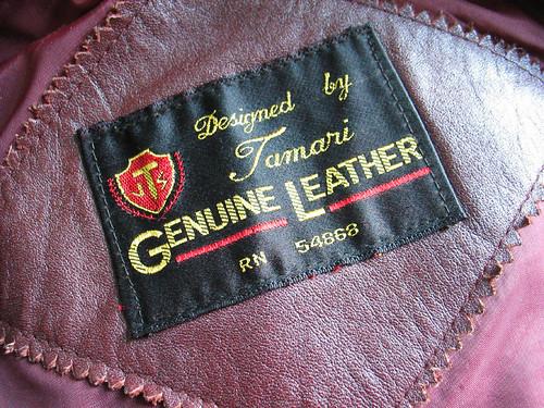 Genuine Leather!