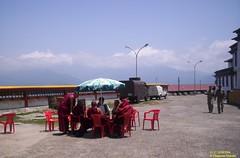 Monks in Meeting