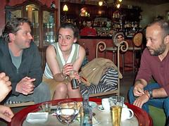 Fini e Ramón con Arturo