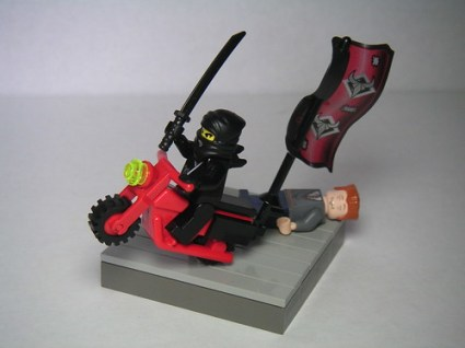Escape on a Motorcycle