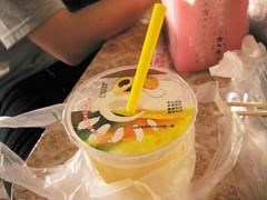 lemon juice + honey