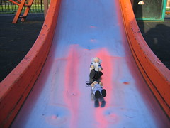 Think the slide might be a bit big
