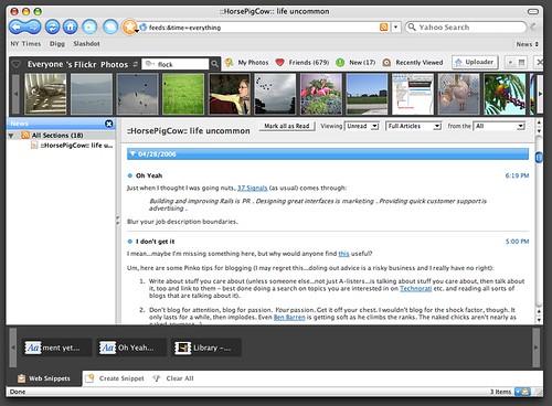 Cardinal Web Clipboard, Photobar, Newspaper