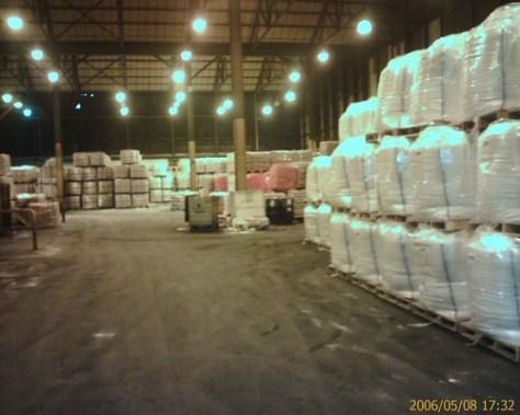 Inside the sugar factory