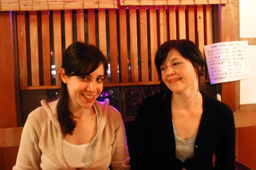 Leah and Nicolette at Kappo Honda