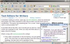 Google Notebook Screenshot