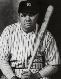 Babe Ruth, baseball legend