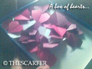 A box of hearts...