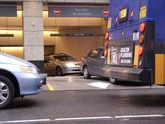 Underground Garage Car Jam