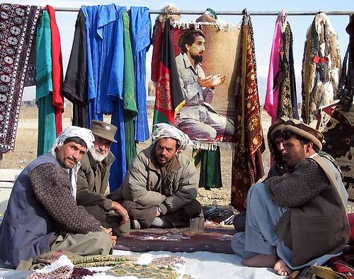 Kneeling Masood Rug - image from warrug.com