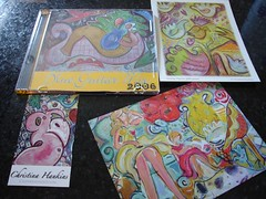 May Liquid Sky Arts CD Swap: received from Christina