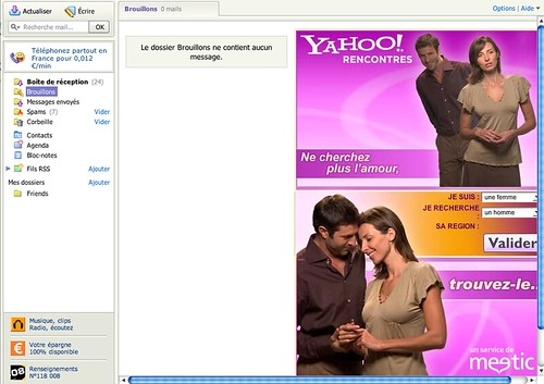 New Yahoo! Mail - full of ads