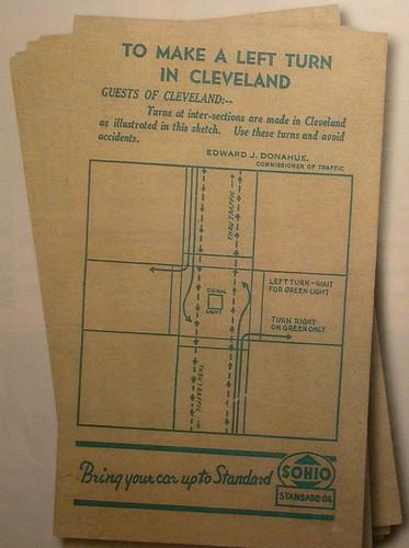 Cleveland也要兩段式左轉耶