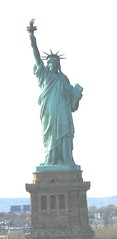 Statute of Liberty as seen from the deck of the NCL Spirit
