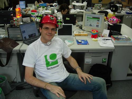technorati programmer at work