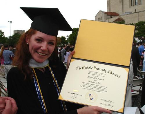 obligatory diploma photo