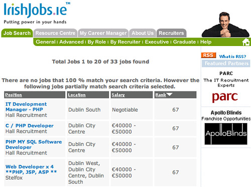 Irishjobs.ie rss search