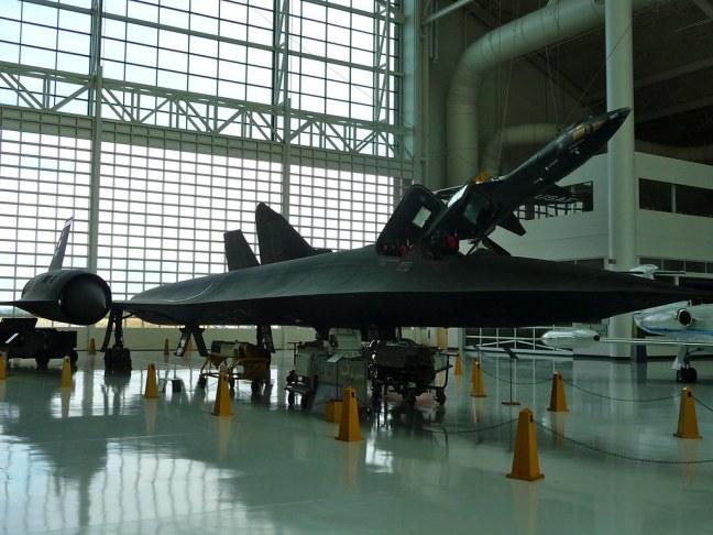 "Lockheed SR-71A ""Blackbird"", the fastest aircraft ever built"