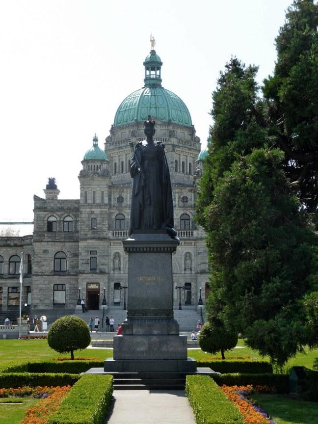 Downtown Victoria, B.C.